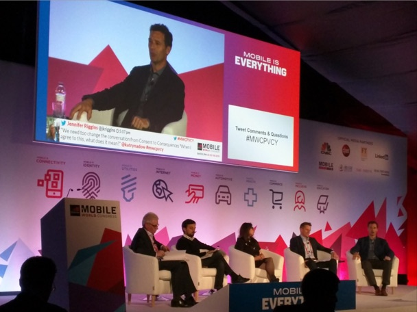 Todd Simpson at Mobile World Congress