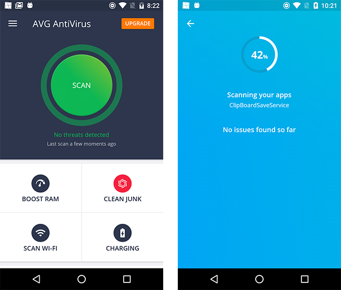 Android study buzzes with praise for AVG Antivirus Free