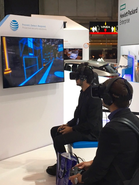 of Intel's RealSense virtual reality technology